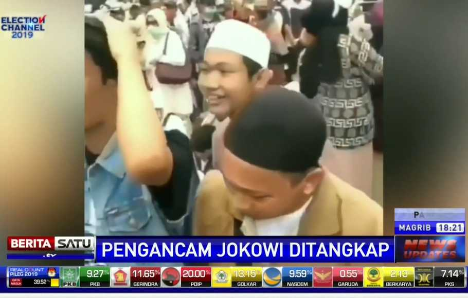 Ina Yuniarti Perekam Video 'Penggal Jokowi' Divonis Bebas