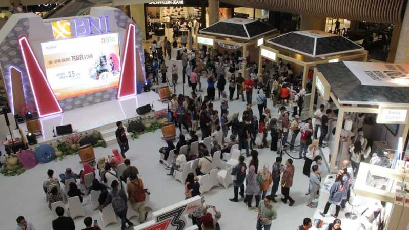 BNI XPO - Japan Airlines Travel Fair  2019 pada 19 - 21 Juli 2019 di Grand Atrium Mal Kota Kasablanka.