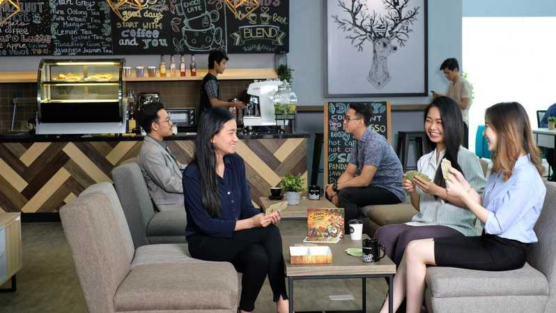 Coworking space yang sangat instagramable
