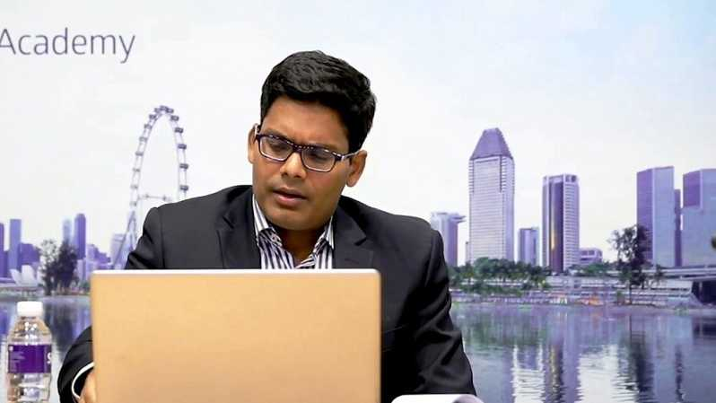Sachin Mittal, Regional TMT Research, Bank DBS. Foto: youtube