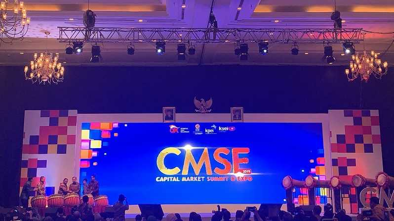 Capital Market Summit & Expo 2019. Foto: Farid Firdaus