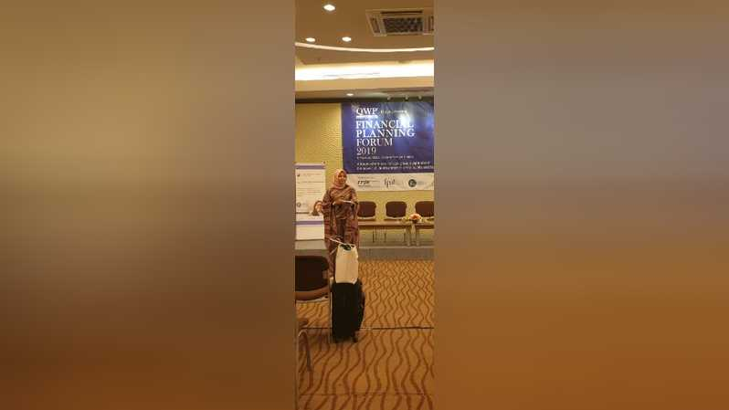 Ishana Adriana D.MM CFP,  Head of General Affairs & Public Relations Financial Planner Assosiation Indonesia (FPAI)/IST