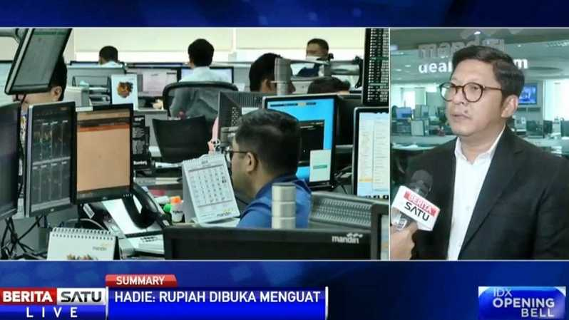Abdul Hadie, VP Treasury Bank Mandiri. Sumber: BSTV
