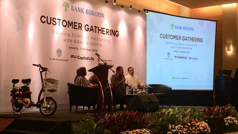 customer gathering bank bukopin