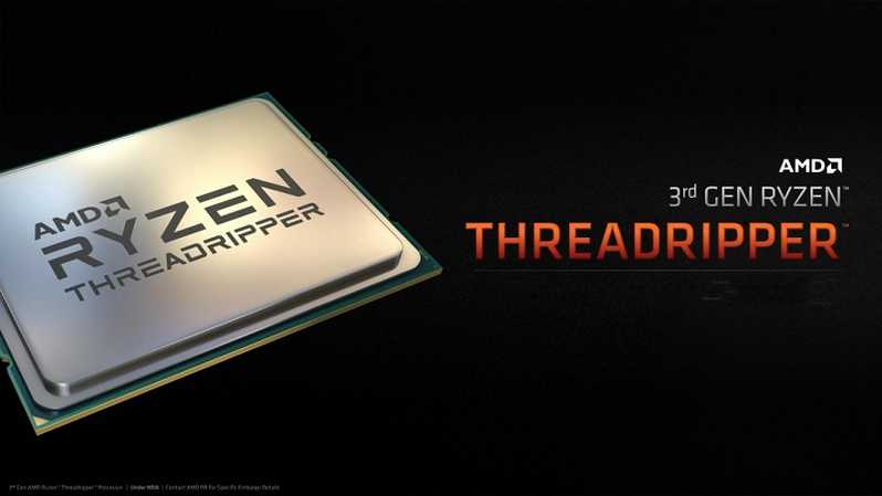 Dua varian prosesor, prosesor 24-core AMD Ryzen Threadripper 3960X dan prosesor 32-core AMD Ryzen Threadripper 3970X