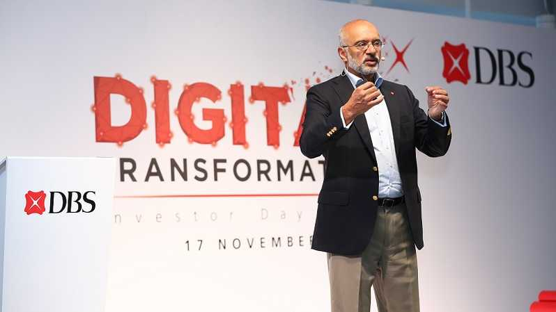 CEO Bank DBS Piyush Gupta