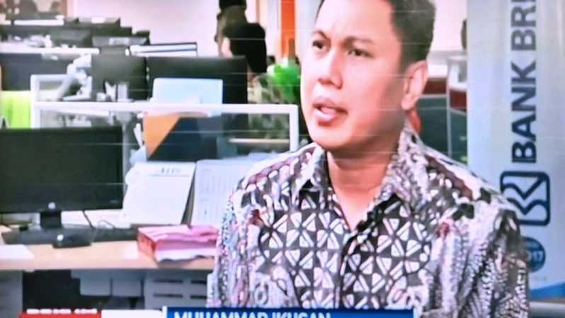 Muhammad Ikhsan, Senior Manager Group Fixed Income bank BRI. SUmber: BSTV