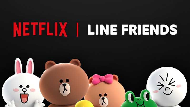 Netflix Gandeng Line Friends Produksi Serial Animasi Original. (IST)