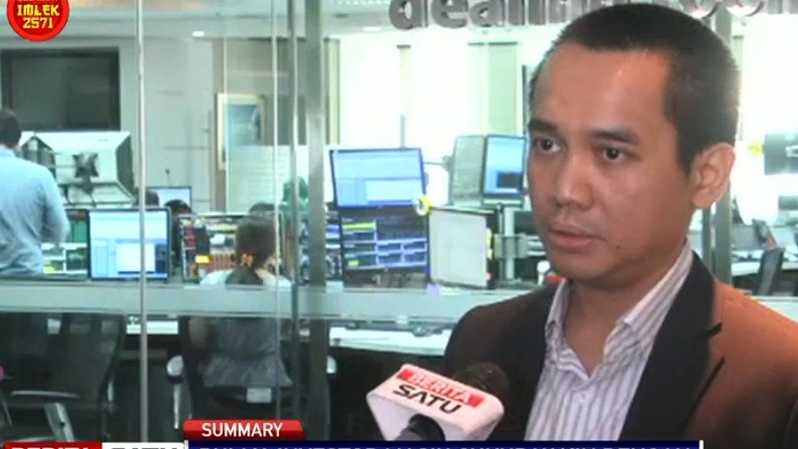 Rully Arya Wisnubroto, Senior Financial Market Analist Bank Mandiri. Sumber: BSTV