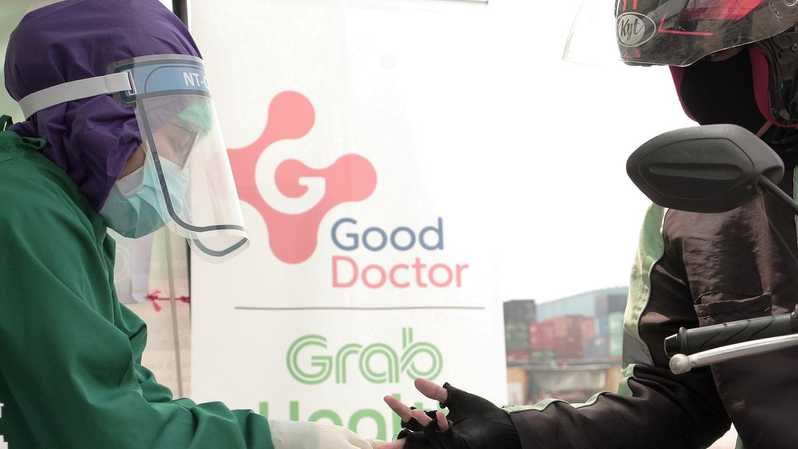 Rapid test dilakukan GrabHealth powered by Good Doctor. (Grab Indonesia)