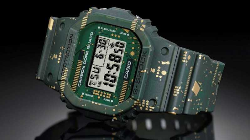 Jam tangan G-Shock DWE-5600CC. ( Foto: CASIO COMPUTER CO., LTD. )