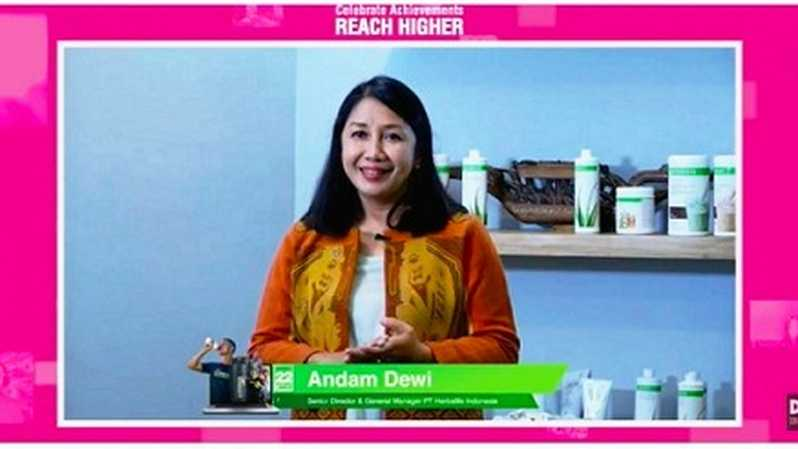 Senior Director & Country General Manager Herbalife Nutrition Indonesia Andam Dewi