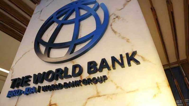 Logo Bank Dunia atau World Bank. ( Foto: Reuters )