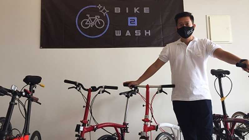 Founder Bike2Wash Allan Novatan
