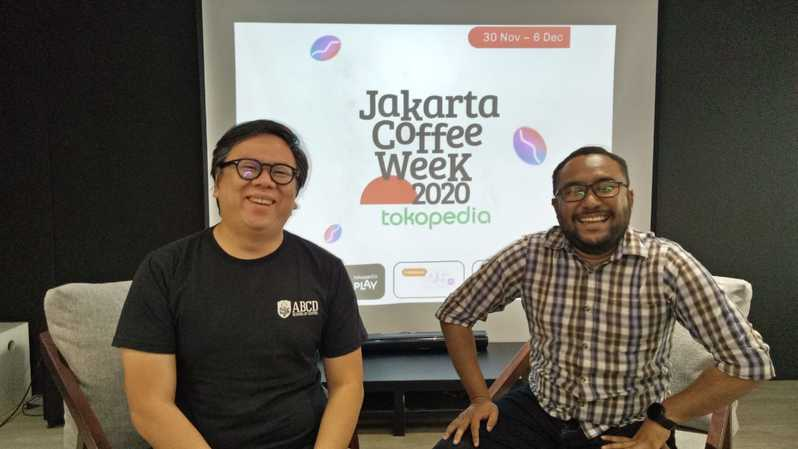 Founder ABCD of Coffee bersama Host Virtual Press Conference #JACOWEEK 2020.