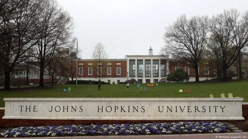 Johns Hopkins University. ( Foto: R.Carr / AFP / Getty Images