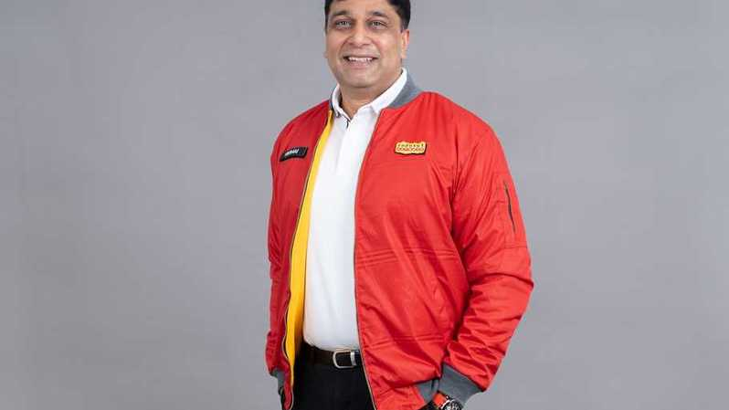 Direktur & Chief Operating Officer Indosat Ooredoo Vikram Sinha