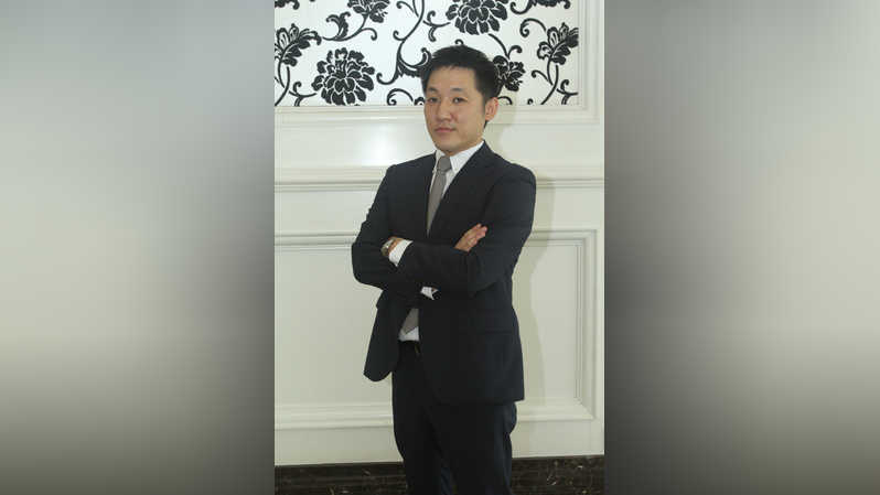 Tomoaki Watanabe, Direktur Omron Healthcare Indonesia (Investor Daily/Emral)