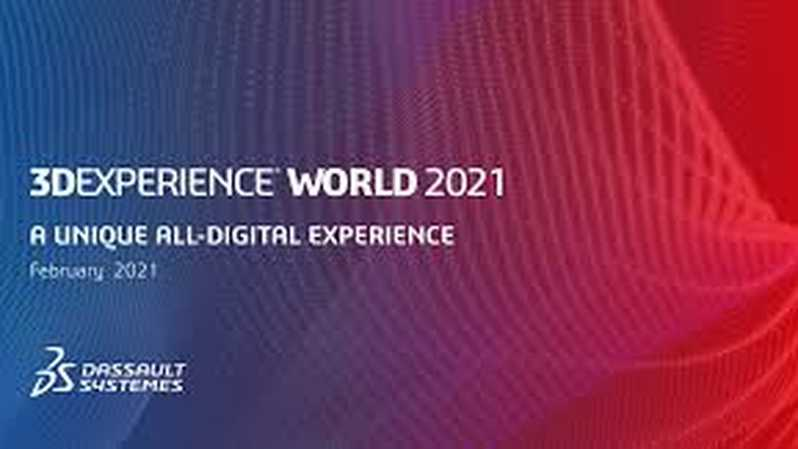 Ilustrasi 3DEXPERIENCE World 2021