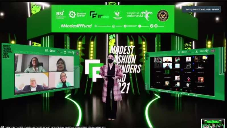 Jumpa pers Modest Fashion Founders Fund 2021