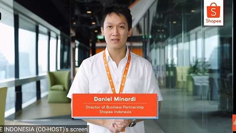 Director of Business Partnership Shopee Indonesia Daniel Minardi