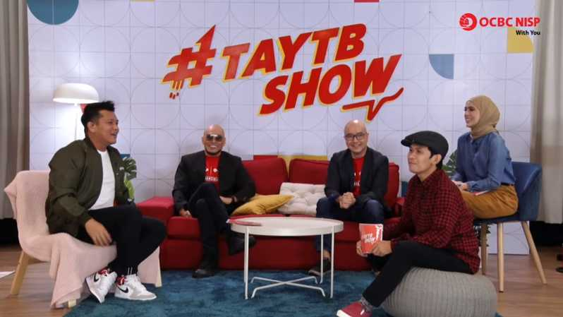 virtual press conference Financial Fitness #TAYTB Show Special Edition