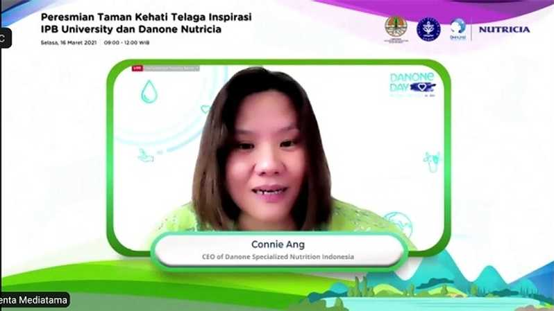 Connie Ang, CEO of Danone Specialized Nutrition Indonesia