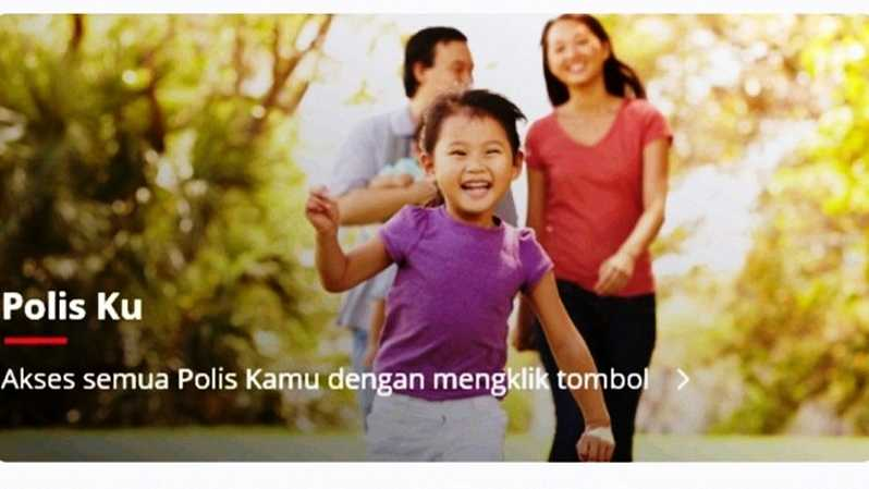 Aplikasi mobile Pulse by Prudential.