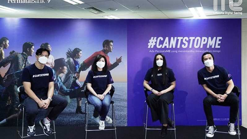 Virtual Press Launch #CantStopME by PermataME, Kamis (15/4).