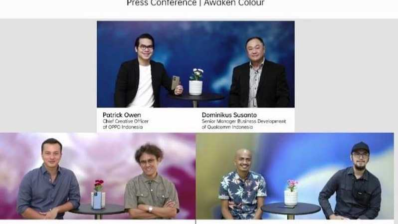 Virtual konferensi pers OPPO Find X3 Pro 5G , Kamis (3/6).