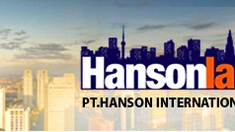 Hanson International. Foto: hanson.co.id