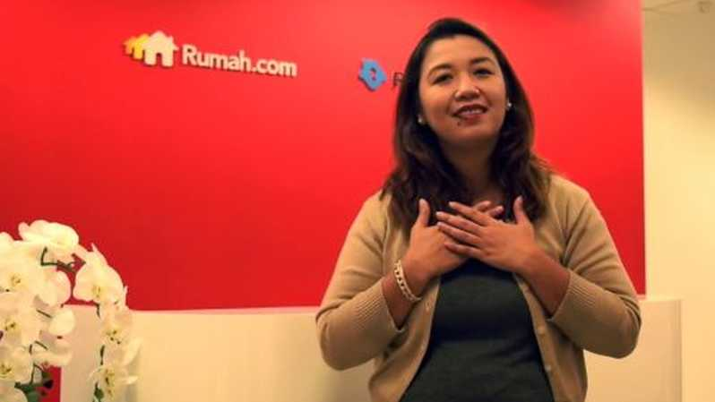 Head of Marketing Rumah.com Ike Hamdan. Foto: youtube