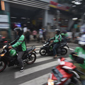 Jakarta's Expanded Odd-Even Traffic Rule Creates Headaches for Gojek, Grab