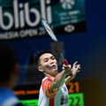 Indonesians Dominate First Day of Blibli Indonesia Open 2019
