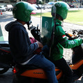 Online Motorcycle Taxis Back on the Streets With New Normal Protocol