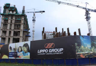 The Lippo Group is developing a new apartment tower, part of Orange County on 322 hectares within the Lippo Cikarang township. (ID Photo/Emral)