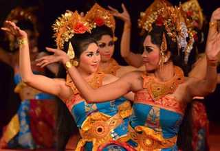 One of the Balinese dances to be performed at Bali Arts Festival. (Photo courtesy of the Tourism Ministry)