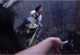 It is a dangerous lifestyle that has seen riders lose their lives but for Karmila the risks are something that has become part of her life. (Photo courtesy of Hype!Media)