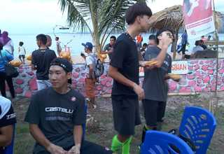 Athletes participating in Tour de Flores 2017 arrived in Larantuka, East Nusa Tenggara on Wednesday (12/07) and received a warm welcome from locals.