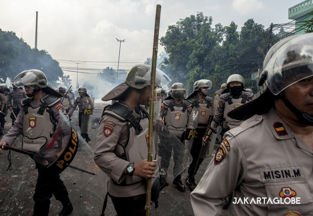 Nearly 260 Rioters Arrested in Jakarta; Masterminds Are Still at Large