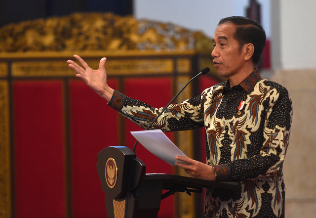 Jokowi Finalizes New Cabinet Ahead of Second Term