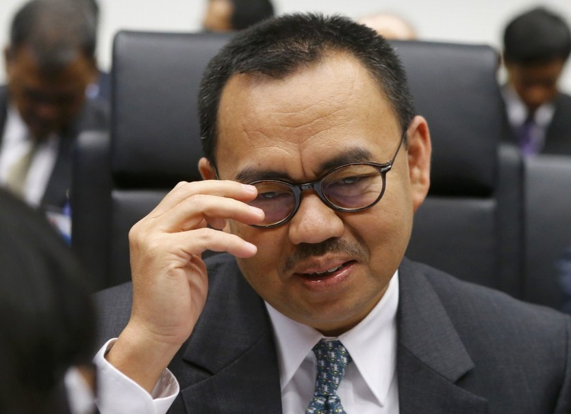 Sudirman Said, former energy minister. (Reuters Photo/Heinz-Peter Bader)