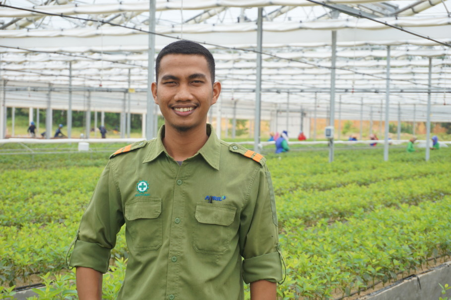 Muhammad Efendi does not regret his decision to participate in RAPP's scholarship program in 2011. Upon graduating in 2015, he was employed by the company. (Photo courtesy of RAPP)