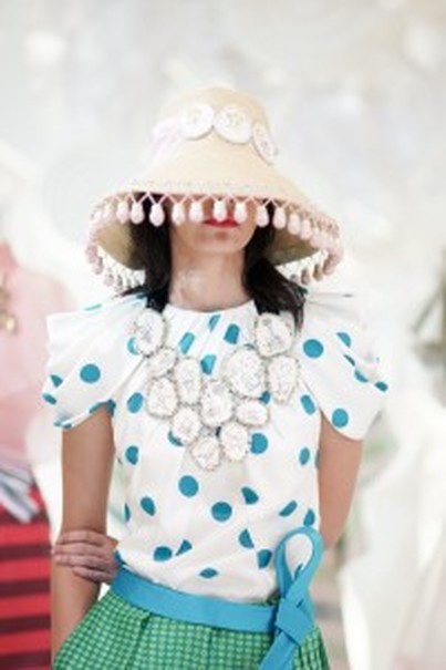 A cute blouse by Andreas Odang. (Photo courtesy of Studio One)