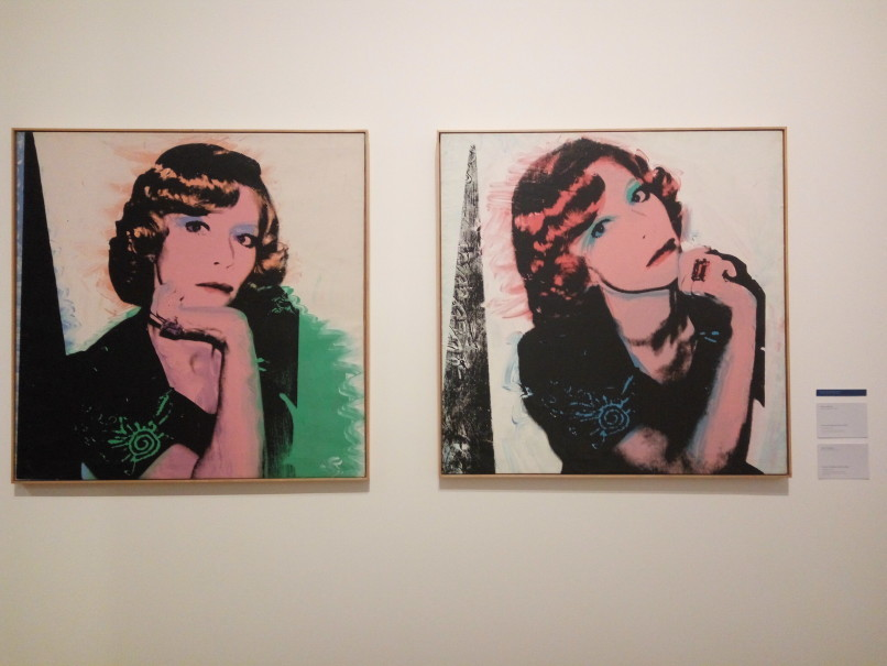 'Portait of Madame Smith' by Andy Warhol at Museum MACAN. (JG Photo/Dhania Sarahtika)