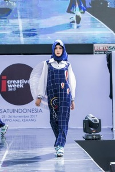 A cute dress by Hannie Hananto. (Photo courtesy of IFC Jakarta)
