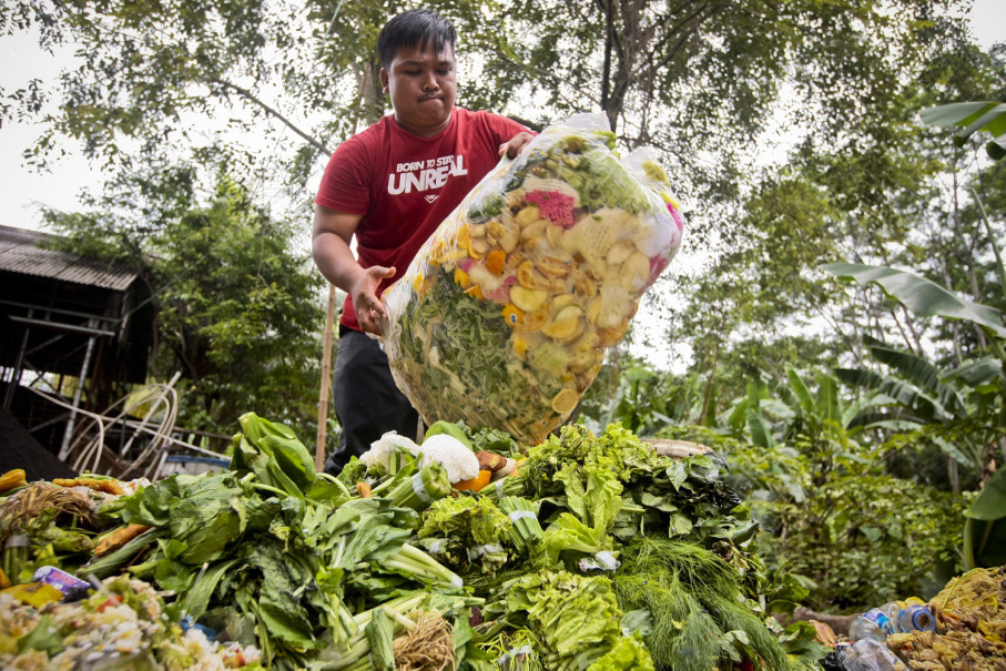 Nearly 30 percent of all food produced in Indonesia is discarded. (JG Photo/Yudha Baskoro)