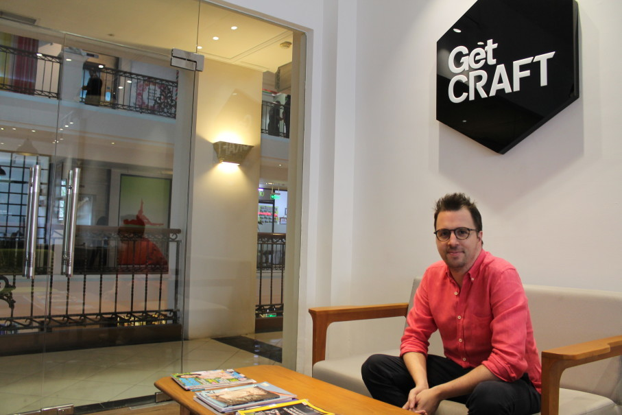 Patrick Searle, GetCRAFT co-founder and group chief executive. (JG Photo/Anthony Furci)