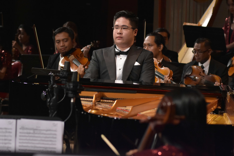 Jonathan Kuo plays Franz Liszt's 'Totentanz.' (Photo courtesy of Image Dynamics)