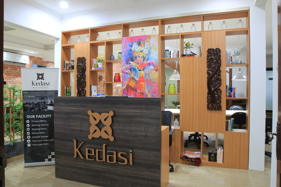 The entrance at Kedasi Tanjung Duren. (Photo courtesy of Kedasi)